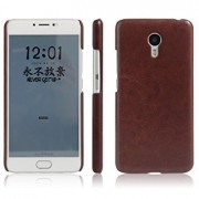 Octer Cover For Lenovo Zuk Z1 Leather Back Cover (Brown)