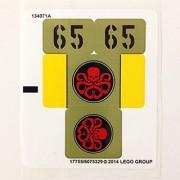 Lego Original Sticker Sheet for Super Heroes Set #76017 Captain America vs. Hydra