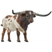 Longhorn Bull - Play Animal Figure by Papo Figures (51156)