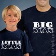 T-shirts Big Man Little - Criança