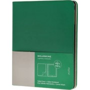 Ipad 3 And 4 Moleskine Oxide Green Slim Digital Cover With Notebook by Moleskine