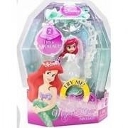 Mattel Disney Princess Magical Minis ARIEL WEDDING Necklace #2