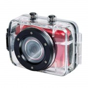 Trevi Go 2200 HD Sports Actionkamera rot 720P 1,3MP 2'' Touchscreen