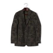 【71%OFF】DIABASE カモフラージュ テーラードジャケット カーキ 01 ファッション > メンズウエア~~スーツ