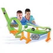 DaGeDar Supercharged Ball Bearing Toy Track Set Two Lane Battle Jump Raceway
