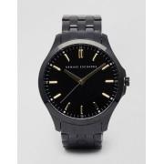 Armani Exchange Black Stainless Steel Watch AX2144 - Black (Sizes: )