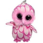 Ty - TY36594 - Beanie Boo's - Porte-clés Pinky La Chouette
