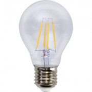 LED-lampa E27 A60 filament, transparent