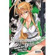 Highschool of the Dead, Vol. 4 by Daisuke Sato