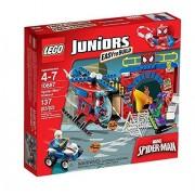 LEGO - 10687 - Juniors - Jeu de Construction - La Cachette de Spider-Man