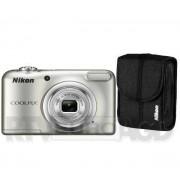 Nikon Coolpix A10 + etui (srebrny) - szybka wysyłka! - Raty 20 x 16,95 zł - odbierz w sklepie!