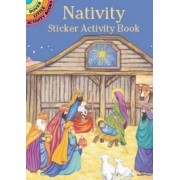 Nativity Sticker Activity Book by Marty Noble