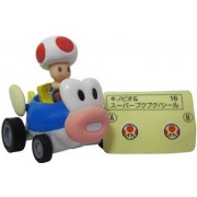 """Wii Mario Kart Racing Collection 3 Pull Back Cars w/ Stickers-2"""" Toad-994173"""