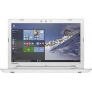 "Laptop Lenovo IdeaPad 500-15 (Procesor AMD FX-8800P (2M Cache, 2.10 GHz), 15.6""FHD, 4GB, 1TB, AMD Radeon R5 M330@2GB, Wireless AC, Windows 10, Alb)"