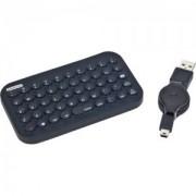 Tastatura GEMBIRD, model: KB-BTF2-B-US, NEGRU, USB, BLUETOOTH