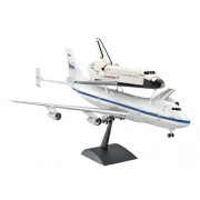 Revell 04863 - Boeing 747 SCA e Space Shuttle Kit di Modello in Plastica, Scala 1:144
