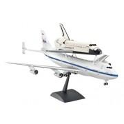 Revell 04863 - Boeing 747 SCA e Space Shuttle Kit di Modello in Plastica, Scala 1:144
