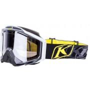 Klim Radius Pro K Corp Black Snow Brille Schwarz/Gelb