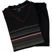 Robson tricot heren pyjama zwart
