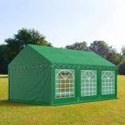 Profizelt24 Partyzelt 3x6m PVC dunkelgrün Gartenzelt, Festzelt, Pavillon