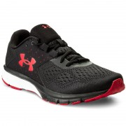 Обувки UNDER ARMOUR - Ua Charged Rebel 1298553-002 Blk/Red/Red