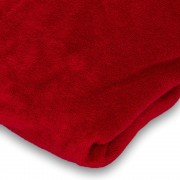 Badstof hoeslaken Rood
