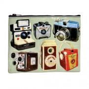 Borsetta portatutto con design Macchine fotografiche di tutti i tempi GRANDE - 95% riciclata