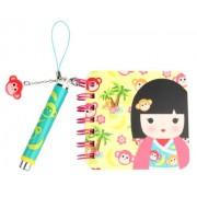 Kids Preferred Kimmidoll Junior Mini Notebook and Pen, Leila