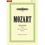 Requiem K626 Vocal Score Urtext by Wolfgang Amadeus Mozart