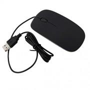 HashTag Glam 4 Gadgets Ultrathin USB Mouse Apple Black