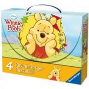 Puzzle Winnie Si Fluturii, 2X25 Piese/2X36 Piese