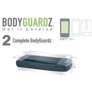 BodyGuardZ Scratch-Proof Transparent Film for AT&T Pure - Transparent