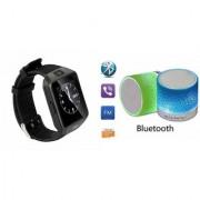 ZEMINI Music Mini Bluetooth Speaker(S10 Speaker) And DZ09 Smart Watch for ASUS ZENFONE ZOOM
