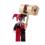 Harley Quinn - LEGO Batman Figure with HAMMER