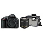 Nikon D5300 kit (AF-P 18-55mm VR) + geantă + 8GB SD memóriakártya