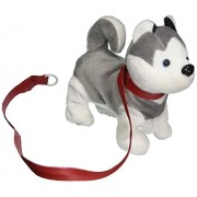Vt My Dancing Puppy Husky Puppy Walk Along Toy Stuffed Plush Dog, Realistic Dancing & Walking Actions With Music (Colors May Vary)