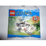 Lego Legends of Chima Winzar's Pack Patrol 30251 Bagged by LEGO [Toy] (English Manual)