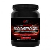 RAMPAGE Pr'-Entrainement Explosif Avec Un Apport D'Oxyde Nitrique (Punch aux Fruits) 550g