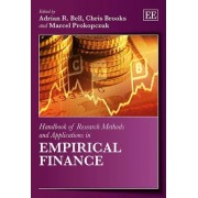 Handbook of Research Methods and Applications in Empirical Finance by Adrian R. Bell
