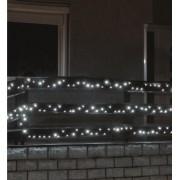 Kültéri LED fényfüzér 7 m 100 db hideg fehér LED KKL 100WH