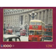 Double Decker Buses 1000 Piece Puzzle