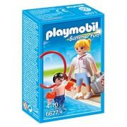 Playmobil - Plm Summer Fun 6677 Bagnina con Bimbo e Braccioli