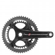 Campagnolo Super Record 11 Speed Carbon Compact Chainset - Black - 50-34T x 172.5mm