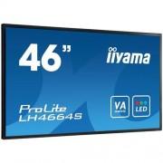 Monitor iiyama ProLite LH4664S, 46'', LCD, 1920x1080, 4000:1, 6.5ms, 500cd, D-SUB, DVI, HDMI, DP, RS232C
