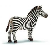 Schleich Male Zebra (White)