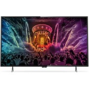 "Televizor LED Philips 139 cm (55"") 55PUS6101/12, Ultra HD 4K, Smart TV, WiFi, CI+ + Lantisor placat cu aur si argint + Cartela SIM Orange PrePay, 6 euro credit, 4 GB internet 4G, 2,000 minute nationale si internationale fix sau SMS nationale din care 300"