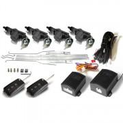 Inchidere centralizata Keetec pentru Skoda Fabia 1 cu telecomanda cu lamela tip briceag, 4 actuatori , 2 telecomenzi si 2 module comanda