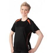 Trigema Damen Sport-Shirt COOLMAX Größe: XL Material: 100 % Polyester Farbe: schwarz