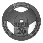 Anilha Sport Luxo - 20 Kg