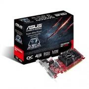 Asus VGA Radeon R7240-OC-4GD3-L Scheda Grafica da 4GB, Nero/Rosso